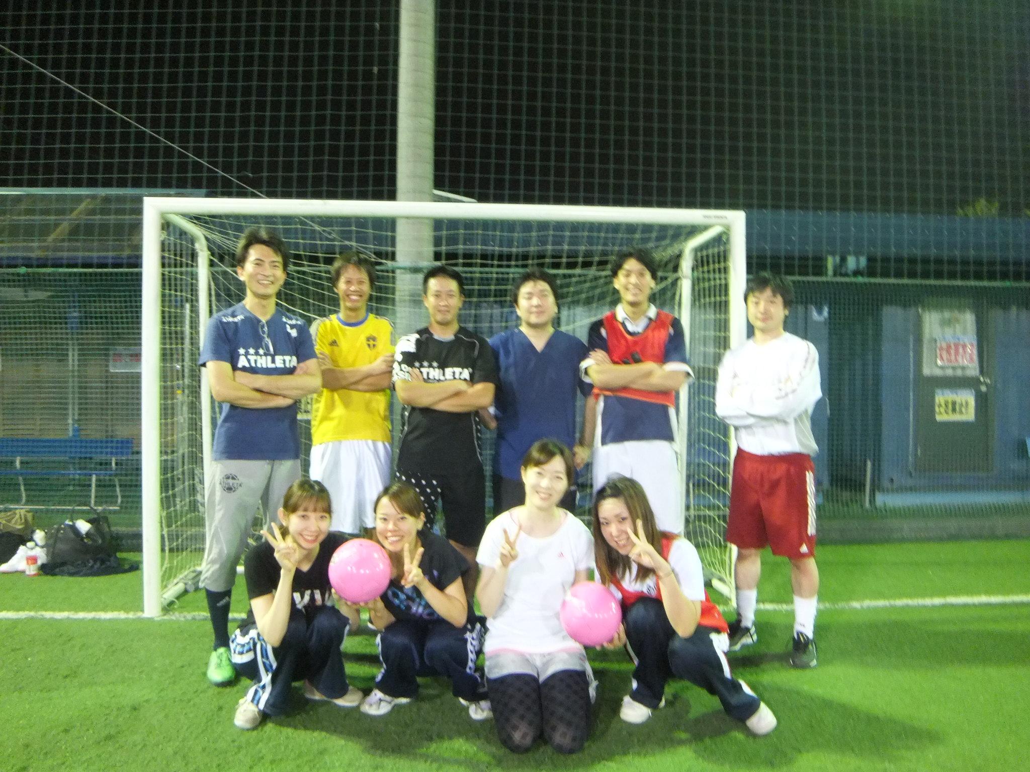 サッカー部。
