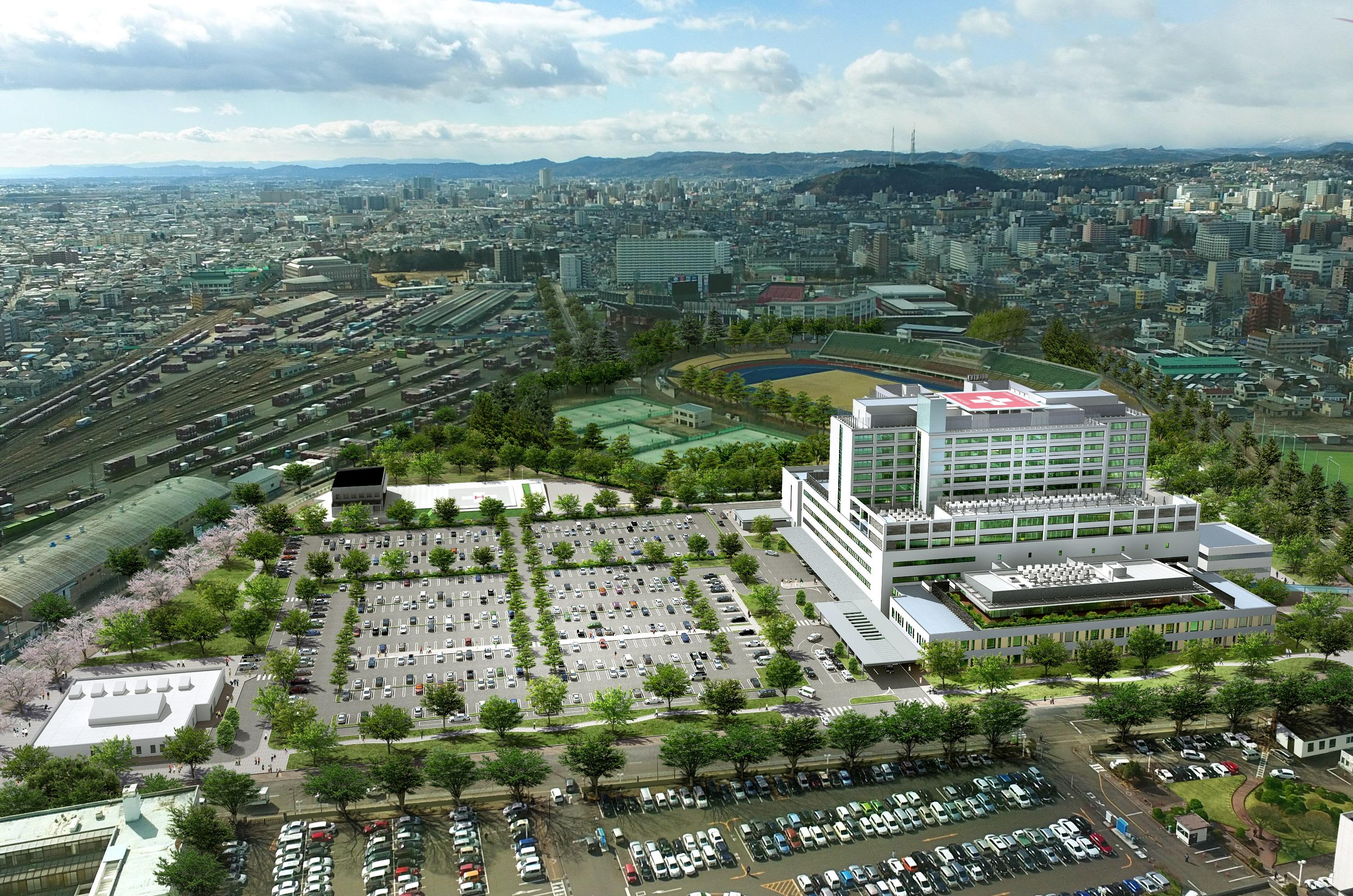 2019年春完成の新病院