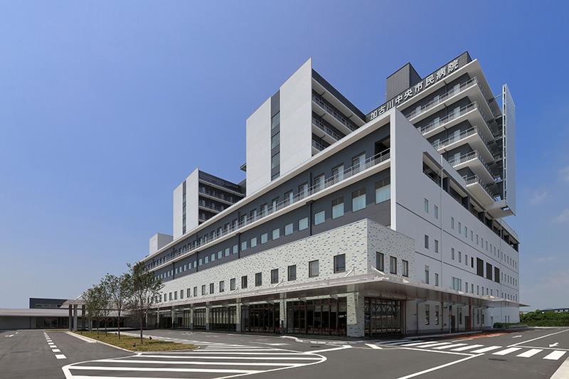 加古川中央市民病院(2016年7月オープン)