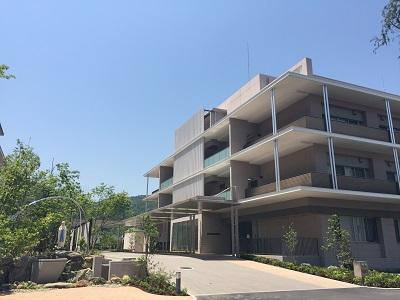 ルルド館(2017年増築)外観        重度障害総合支援センター